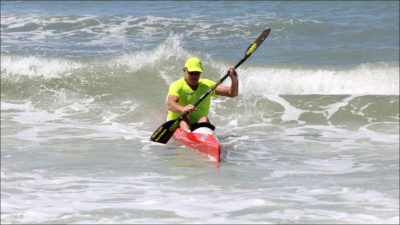 Advanced Surf Ski Lesson