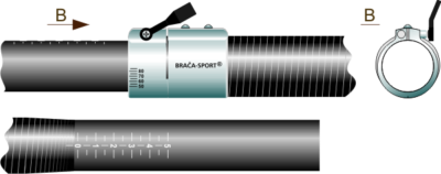 Braca Kayak Adjustment System II